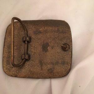 John Deere Accessories - Vintage John Deere Belt Buckle